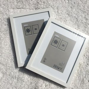 IKEA Ribba Set of 2 Sealed Picture Frames 8x10
